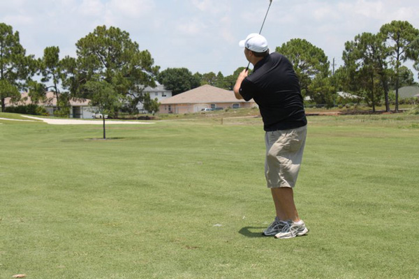 Cory ODonnell tees off at last years event
