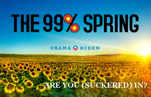 99% Spring Co-Opts Occupy Wall Street For Obama