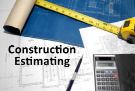 Construction cost estimation services building for How to estimate building materials for home construction