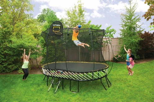 springfree trampoline announces new 077 medium oval model katherine langdon communications. Black Bedroom Furniture Sets. Home Design Ideas