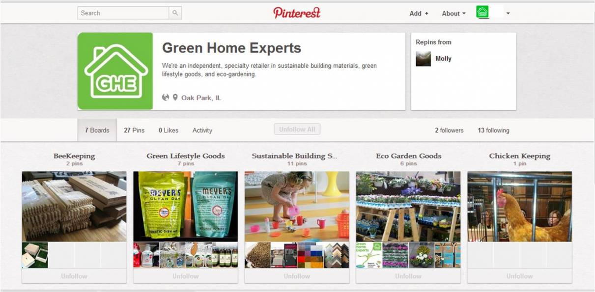 GHExperts Pinterest