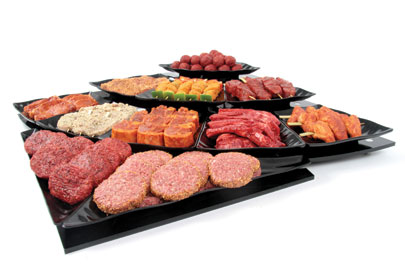 FFR-DSI Curved Riser and Wavy Platters