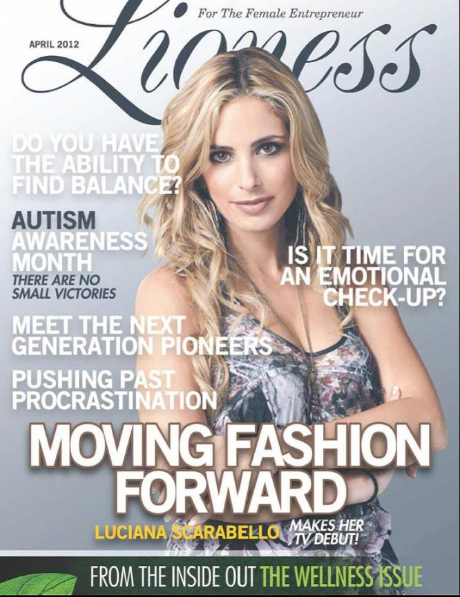 Lioness Magazine - April 2012