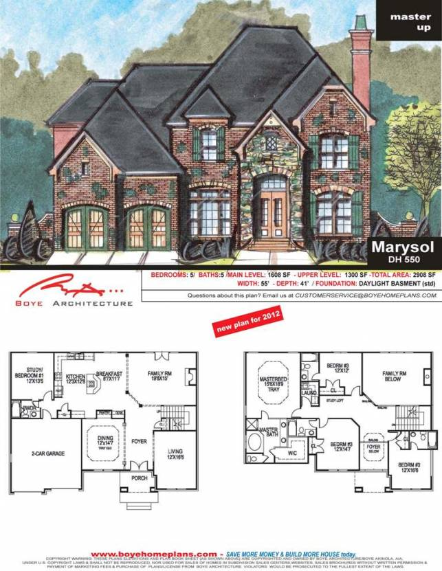 Spectacular French Country House Plan Marysol Plan Www