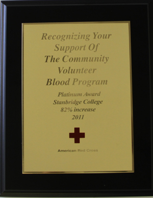 Red Cross Award 2011