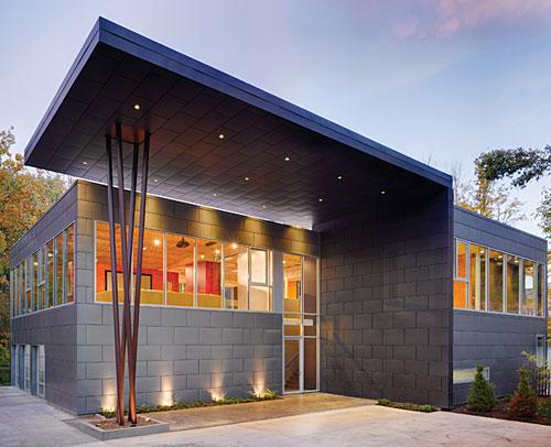 Zinc Metal Panels : Quot focus on zinc spotlights residential applications around