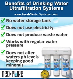 Ultrafiltration Drinking Water System
