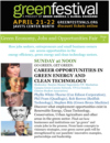 Green Economy, Jobs and Opportunities Expo