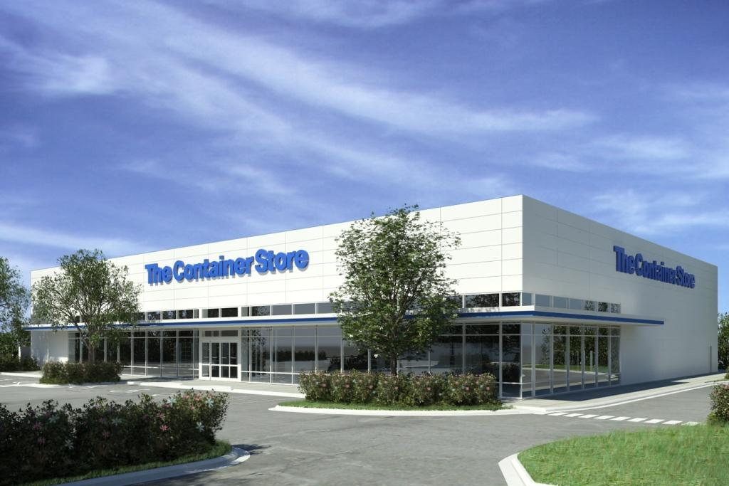The Container Store,  anchor tenant at The Corner