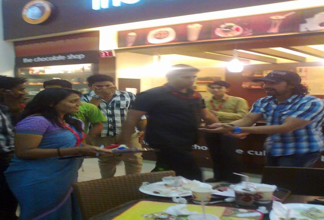 MTV Roadies Raghu, Ranvijay & Anusha at AlphaOne
