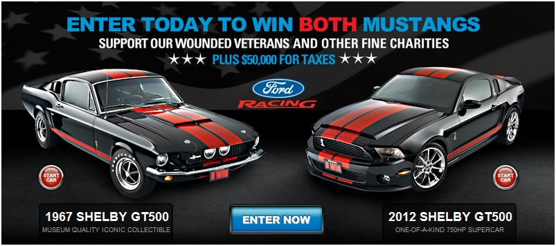 The Mustang Dream Giveaway Web Site