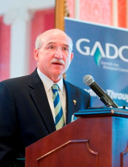 GADC's Jerry Howard addresses GADC meeting