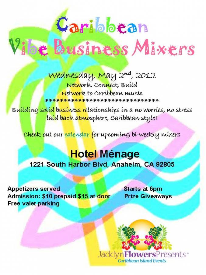 Business Mixer May 2nd,2012