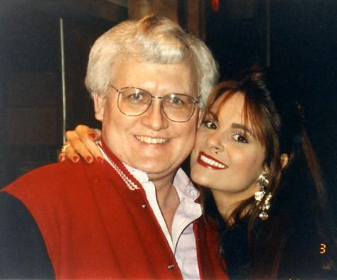 Metzgar with Donna Stokes of Hee Haw television cast