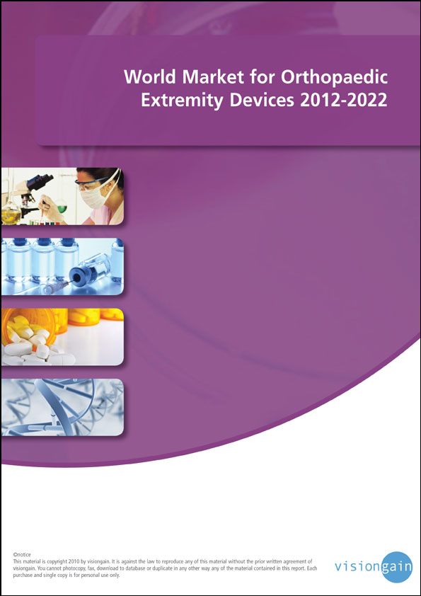World Market for Orthopaedic Extremity Devices 2012-2022