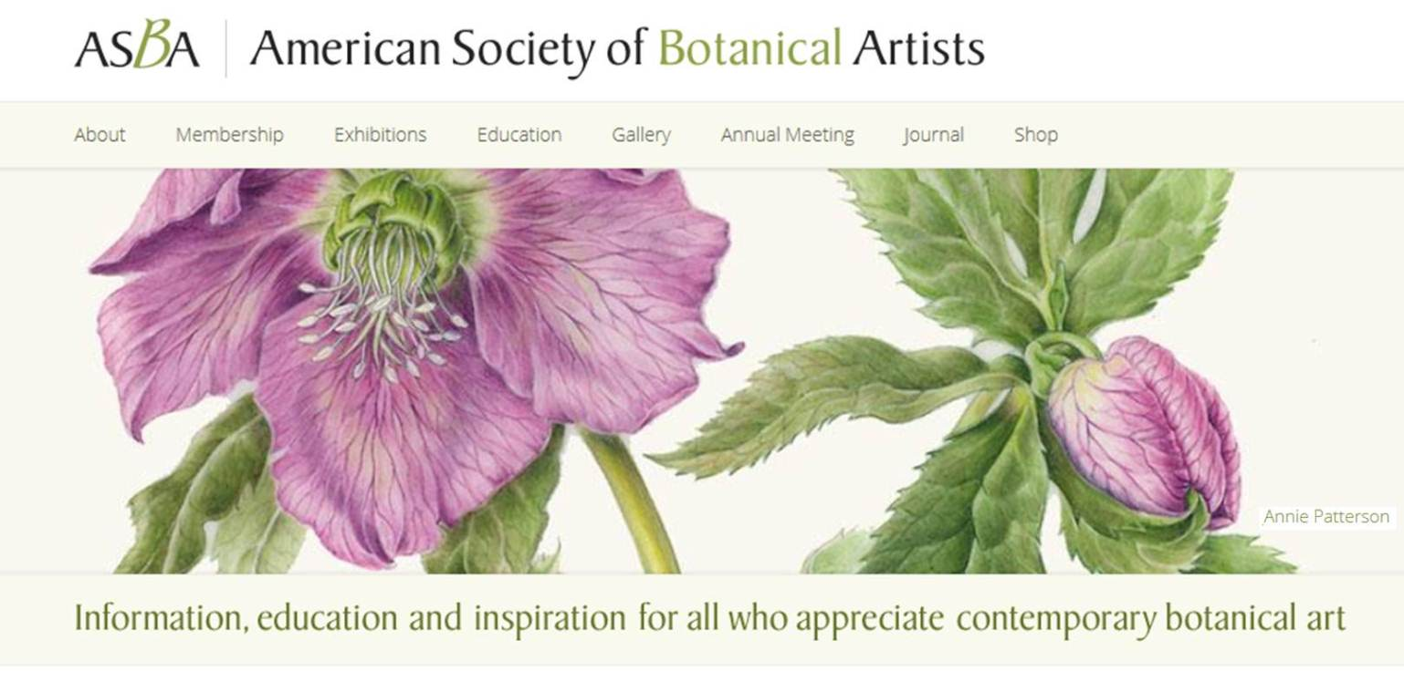 ASBA Website Home Page