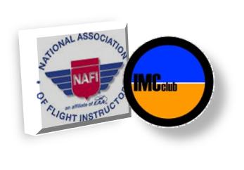 NAFI, IMC CLub logos