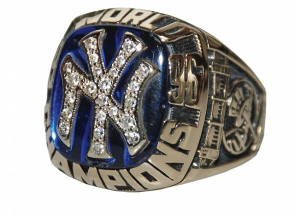 1996 Yankees World Series ring
