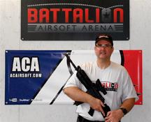 Owner Chris Webster, Battalion Airsoft Arena