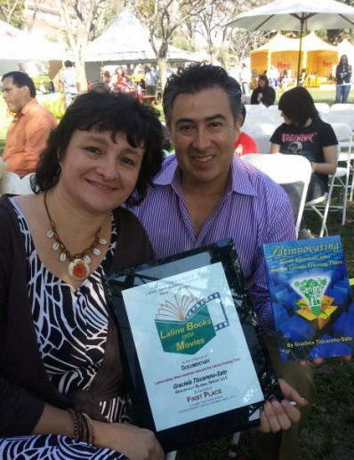 "Graciela with ""Latinnovator"" Luis Rojas, President, Evergreen Energy Solutions"
