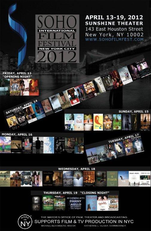 2012 SohoFilmFest Poster