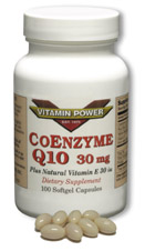 Coenzyme Q10 by Vitamin Power