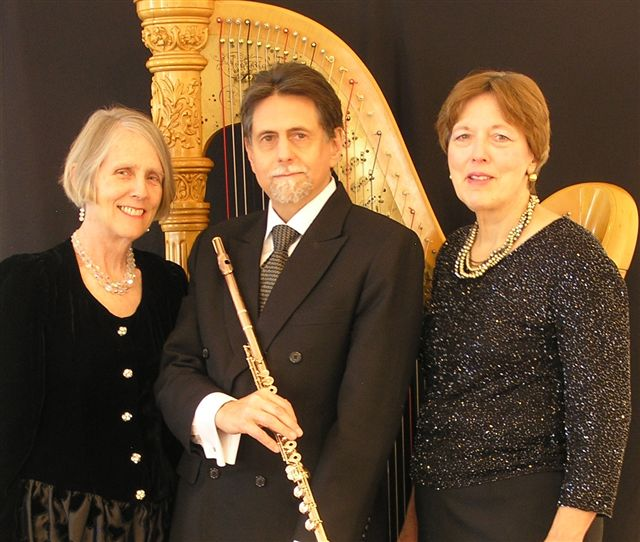 Peter H. Bloom, flute;D'Anna Fortunato, mezzo-soprano; Mary Jane Rupert, harp