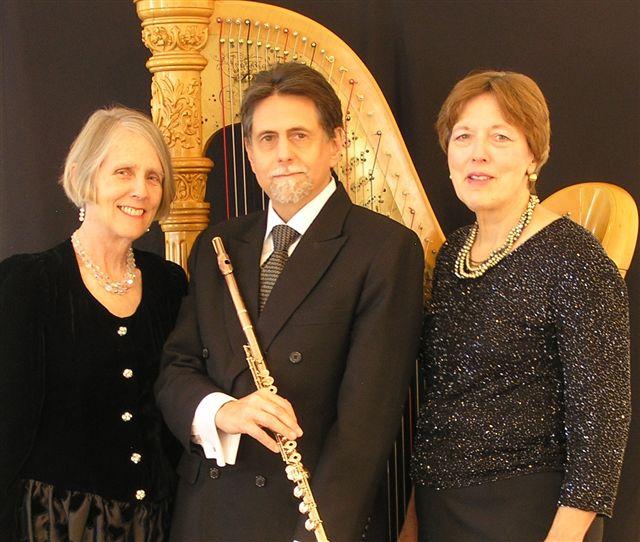Peter H. Bloom, flute;D'Anna Fortunato, mezzo-soprano; Mary Jane Rupert, harp