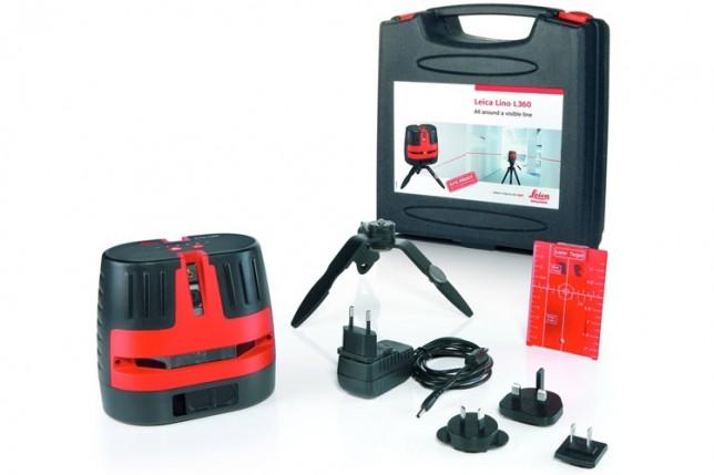 Livella laser Lino L3- Metri Laser Leica DISTO