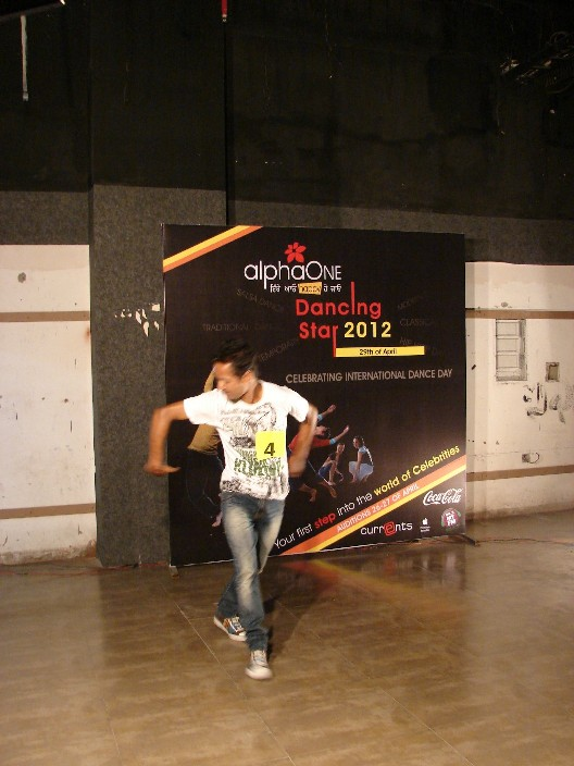 Auditions for AlphaOne Dancing Star 2012