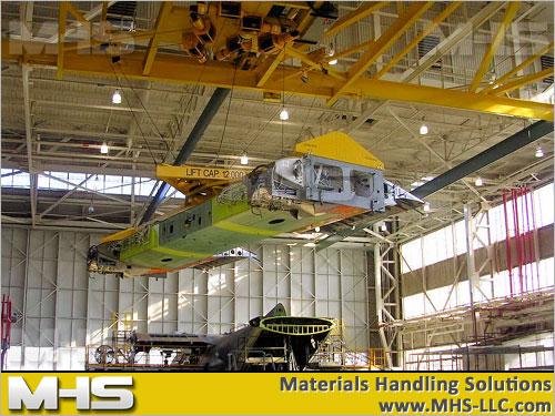 Custom Crane Lifting Material Handling System