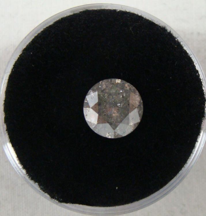 Fancy 2 carat diamond