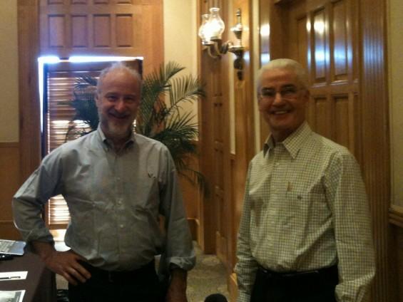 Bruce Bolger and Colin Higgins