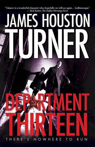 Department Thirteen book cover (Comfort Publishing). Graphics by Reed Karriker.