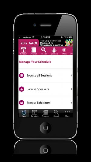 AAOE EventPilot conference app