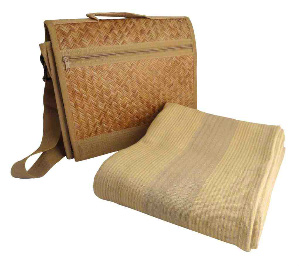 Vastra Yoga mat and Eco- Friendly messenger bag