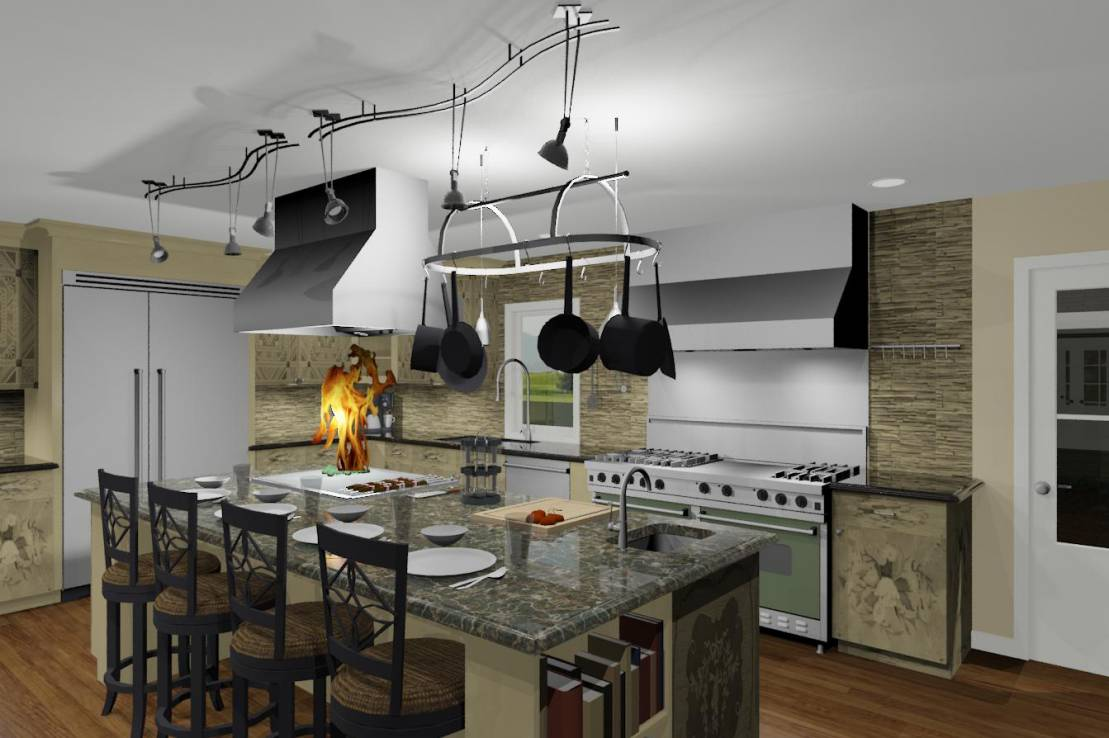 cooking enthusiast kitchen by Design Build Pros