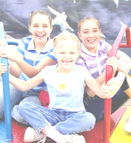 Homeschool children at play; source: North Texas Home Educators' Network