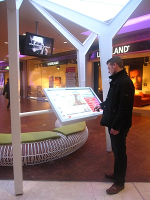 Touch Kiosk for Wayfinding