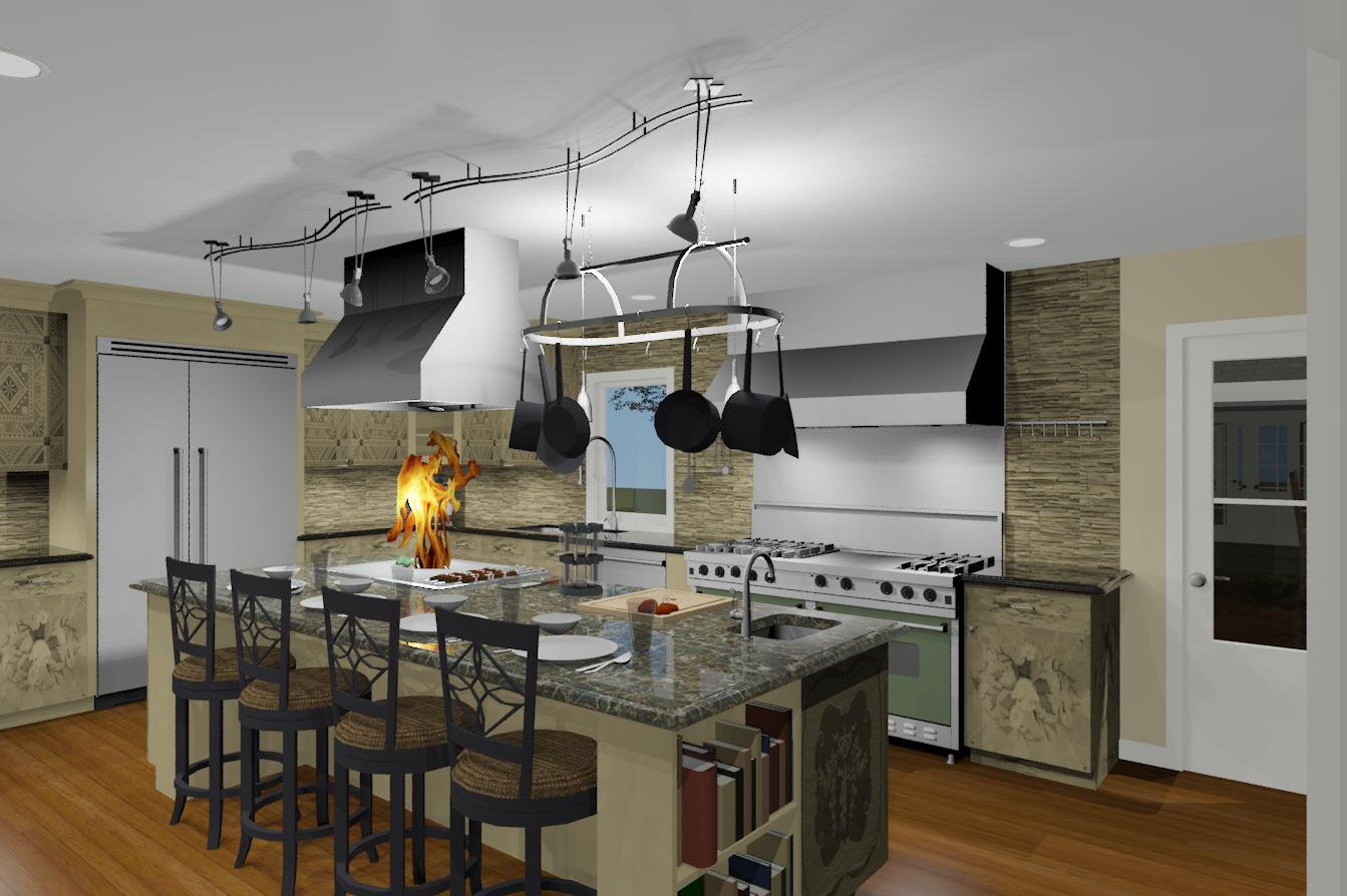 Design Build Pros - Gourmet Kitchen