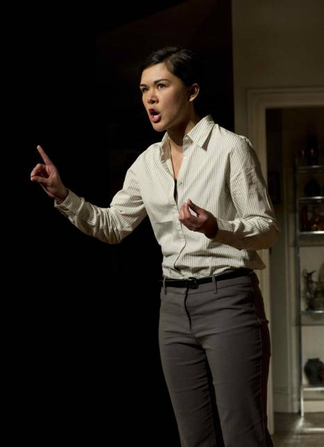 Elizabeth Hix Performs Shakespeare Monologue