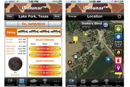iSolunar Solunar Tables v2.5.1