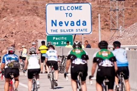 Viva Bike Vegas riders in 2011