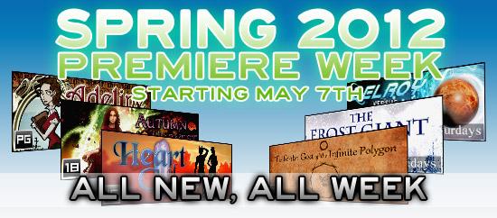 Spring 2012 Premiere Week