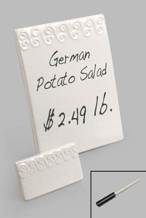 FFR-DSI Ceramic Menu Cards