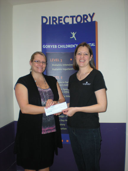 Vintner's Circle Chester donates to Goryeb Children's Hospital, Morristown, NJ