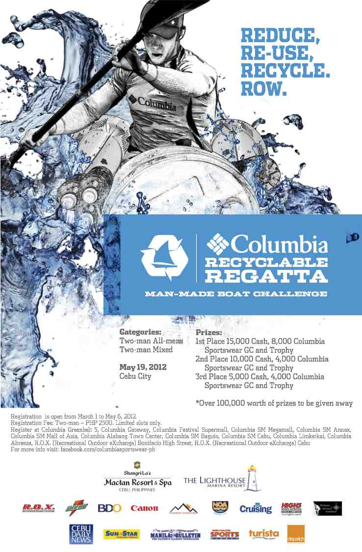 Columbia Recyclable Regatta