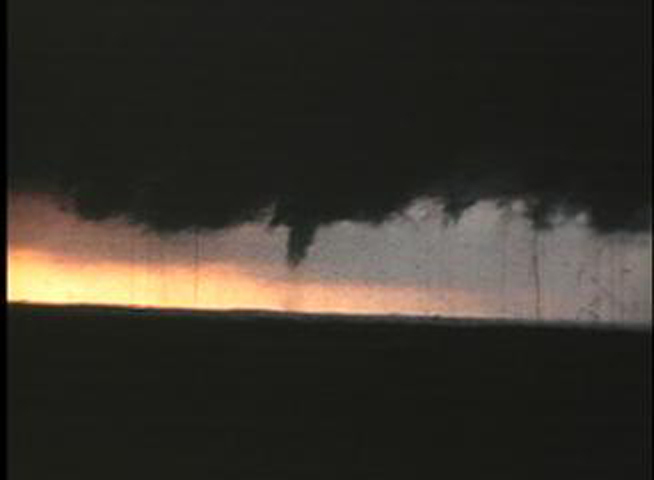 1973 tornado touches down in this film still.