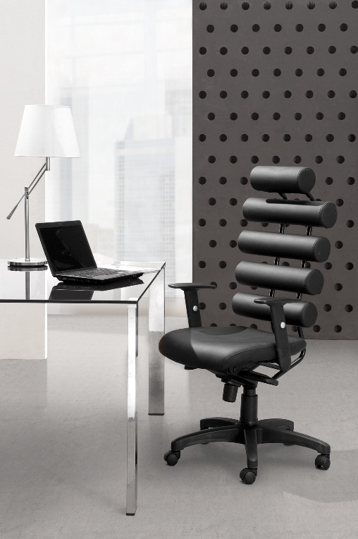 Unico Office Chair (Black) by Zuo Modern - Bella Office Designs