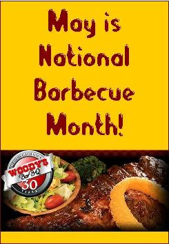 May is National Barbecue Month